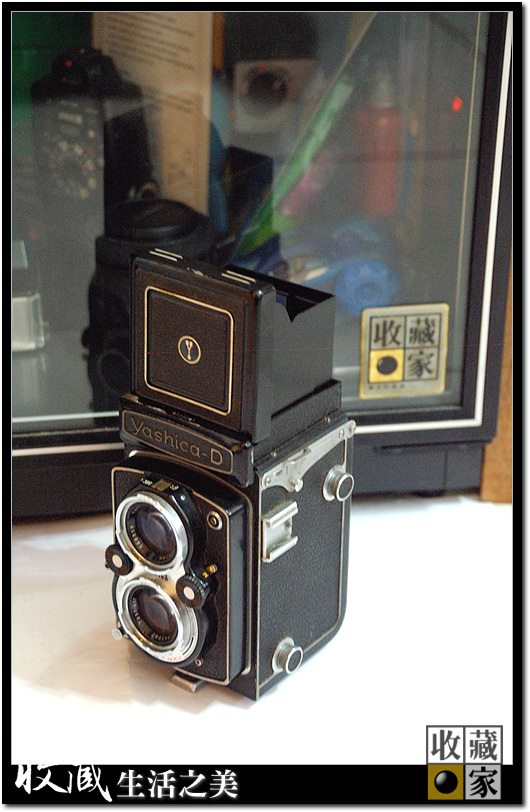 Antique camera protected in humidity controlled Eureka Auto Dry Box