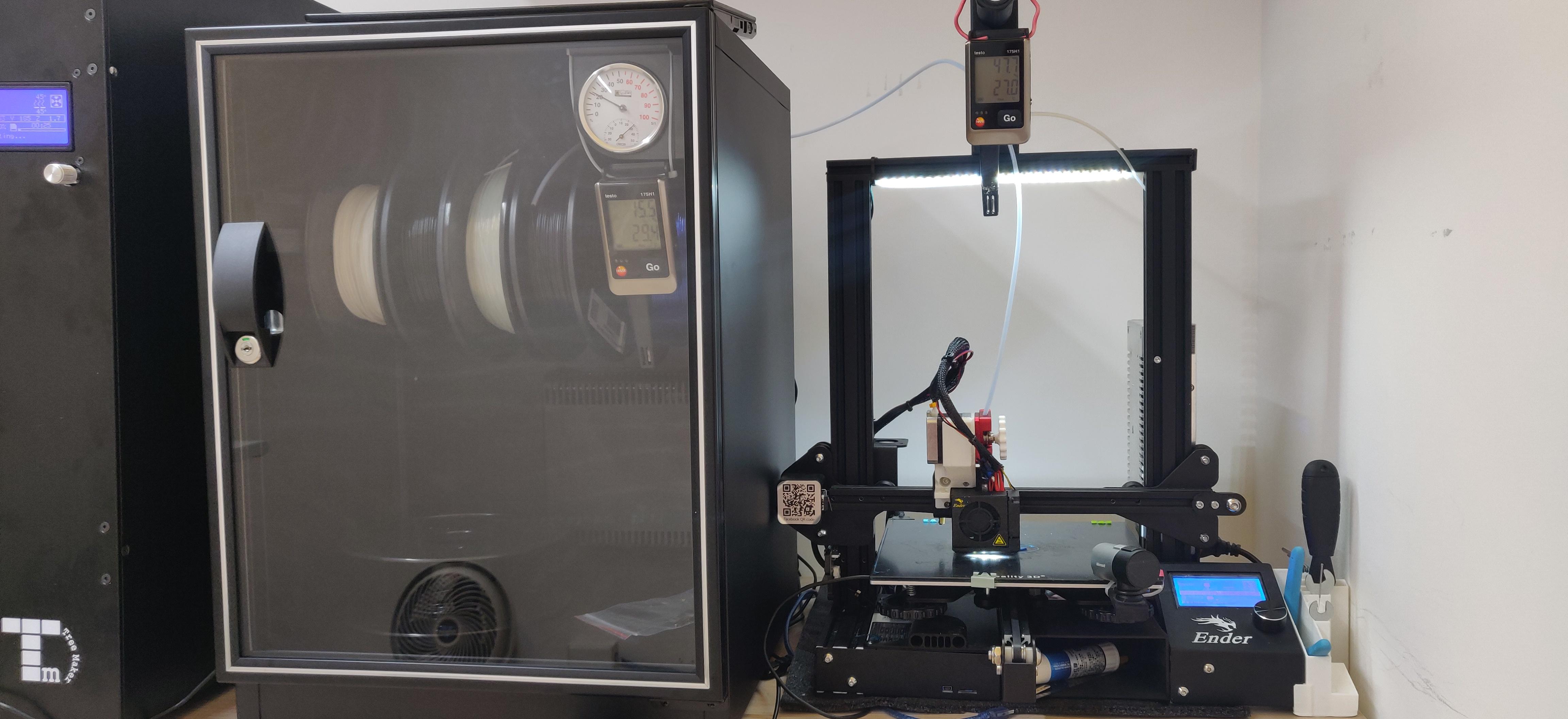 Eureka Dry Tech Creality Ender 3 3D printer