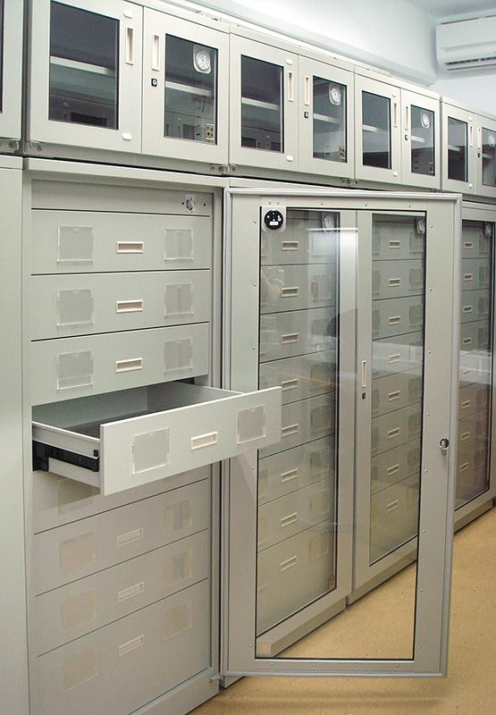 Eureka Dry Tech Custom Humidity controlled Records filing room