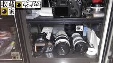 Canon Camera and Lens Protected from fungus and other moisture harm in Eureka Dry Tech Auto Dry Box
