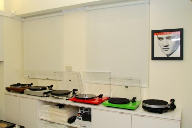 Ark Audio display room vinyl player