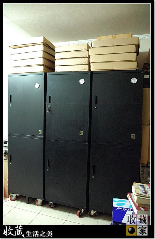 Custom designed Eureka Dry Cabinet for butterfly specimen