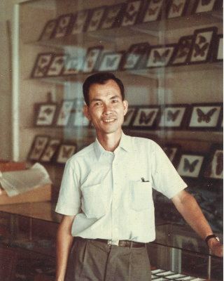 Muh Sheng Museum of Entomology curator Yu Ching-kin