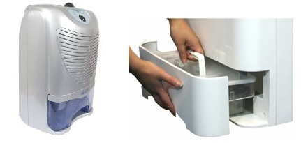 dehumidifier and water tank