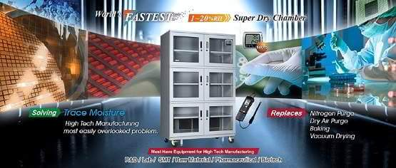 Eureka Fast Super Dryer Series Low Humidity Dry Cabinet Product Series