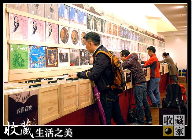 Vinyl Underground customer searching through albums