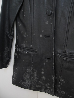 Moldy Leather Coat