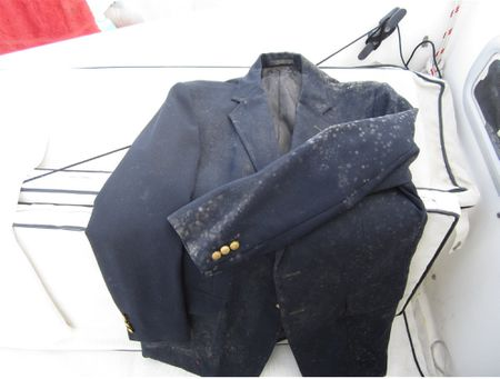 Mold and fungus on sport coat